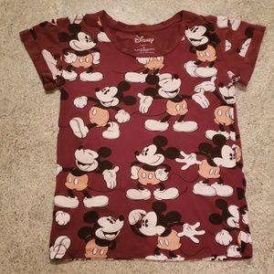 Disney Graphic Mickey Mouse Tshirt